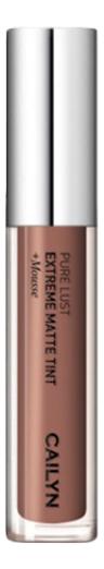 Матовый тинт для губ Pure Lust Extreme Matte Tint + Mousse 3,5мл: 66 Sensibility матовый тинт для губ pure lust extreme matte tint mousse 3 5мл 76 maturity