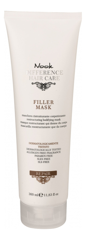 Восстанавливающая маска для сухих и поврежденных волос Ph 4,0 Difference Hair Care Repair Filler Mask: Маска для волос 300мл фото