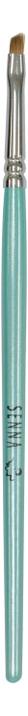 Скошенная кисть для бровей и подводки глаз Brush Detailer No623