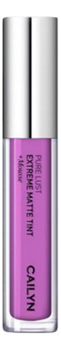 Матовый тинт для губ Pure Lust Extreme Matte Tint + Mousse 3,5мл: 74 Nobility матовый тинт для губ pure lust extreme matte tint mousse 3 5мл 76 maturity