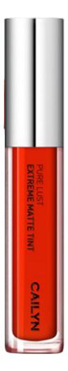 Матовый тинт для губ Pure Lust Extreme Matte Tint + Mousse 3,5мл: 80 Visibility