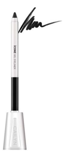 Карандаш для глаз с точилкой ICone Gel EyeLiner 1,2г: E01 Black