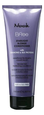 Кондиционер для волос цвета Блонд BFree Starlight Blonde Conditioner: Кондиционер для волос 250мл