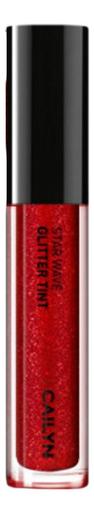 Глиттерный тинт для губ Star Wave Glitter Tint 3мл : 04 Scorpio глиттерный тинт для губ star wave glitter tint 3мл 05 virgo