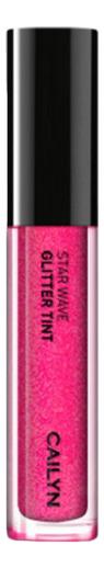 Глиттерный тинт для губ Star Wave Glitter Tint 3мл : 05 Virgo глиттерный тинт для губ star wave glitter tint 3мл 05 virgo