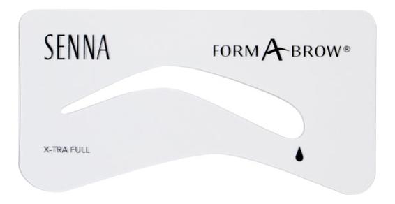 Трафареты для бровей Form-A-Brow Stencils: X-tra Full