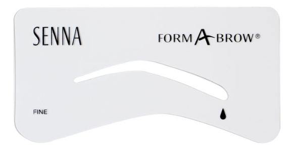 Трафареты для бровей Form-A-Brow Stencils: Fine недорого