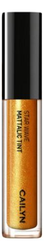 Металлический тинт для губ Star Wave Mattalic Tint 3мл: 01 Deneb глиттерный тинт для губ star wave glitter tint 3мл 05 virgo