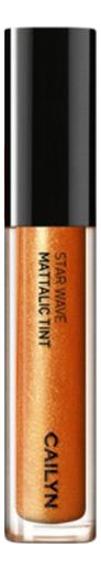 Металлический тинт для губ Star Wave Mattalic Tint 3мл: 02 Aquila глиттерный тинт для губ star wave glitter tint 3мл 05 virgo