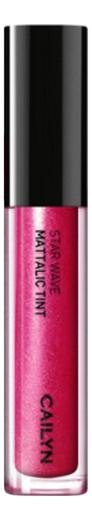 Металлический тинт для губ Star Wave Mattalic Tint 3мл: 05 Spica глиттерный тинт для губ star wave glitter tint 3мл 05 virgo
