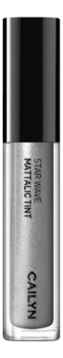 Металлический тинт для губ Star Wave Mattalic Tint 3мл: 11 Polaris глиттерный тинт для губ star wave glitter tint 3мл 05 virgo