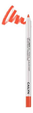 Купить Гелевый карандаш для губ Lip Liner Gel Pencil 1, 2г: 06 Bloody Mary, CAILYN