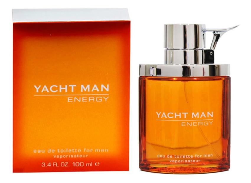 Myrurgia Yacht Man Energy: туалетная вода 100мл