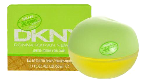 DKNY Delicious Delights Cool Swirl: туалетная вода 50мл