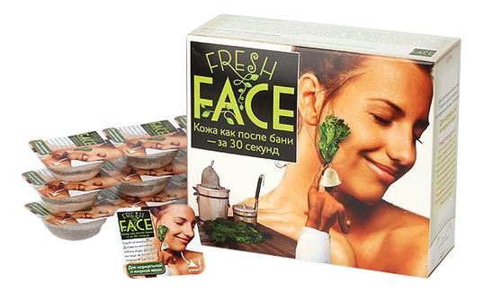 Скраб для нормальной и жирной кожи лица Fresh Face: Скраб 72г