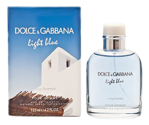 Купить Light Blue Living Stromboli: туалетная вода 125мл, Dolce & Gabbana