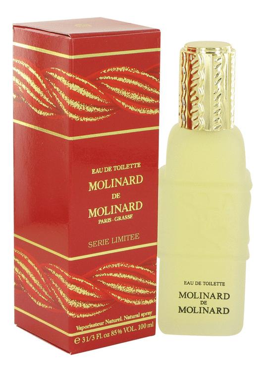 Molinard de Molinard: туалетная вода 100мл molinard musc отливант парфюмированная вода 18 мл