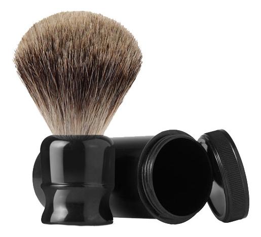 Помазок для бритья ворс барсука (черный) помазок для бритья kurt к 10006