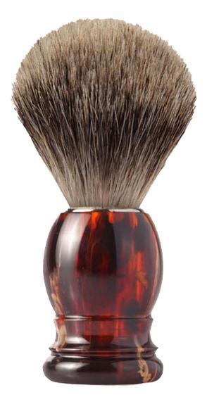 Помазок для бритья барсучий ворс (цвет черепаха) помазок для бритья 81sb353cr щетка барсучий ворс
