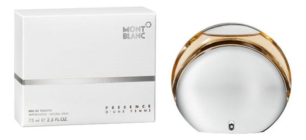 Mont Blanc Presence D'une femme: туалетная вода 75мл mont blanc legend pour femme special edition 2014 туалетная вода 75мл