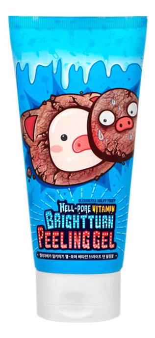 Гель-пилинг витаминизированный Hell-Pore Vitamin Bright Turn Peeling Gel 150мл