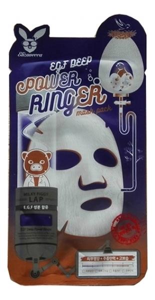 Купить Тканевая маска для лица с эпидермальным фактором EGF Deep Power Ringer Mask Pack: Маска 23мл, Elizavecca