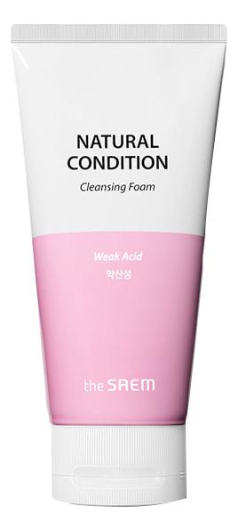 Пенка для умывания очищающая Natural Condition Cleansing Foam Weak Acid 150мл