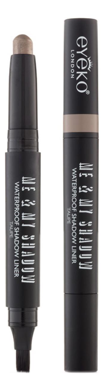 Тени для век кремовые в стике Me & My Shadow Waterproof Shadow Liner 1,4г: Taupe