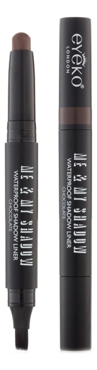 Тени для век кремовые в стике Me & My Shadow Waterproof Shadow Liner 1,4г: Chocolate red shadow