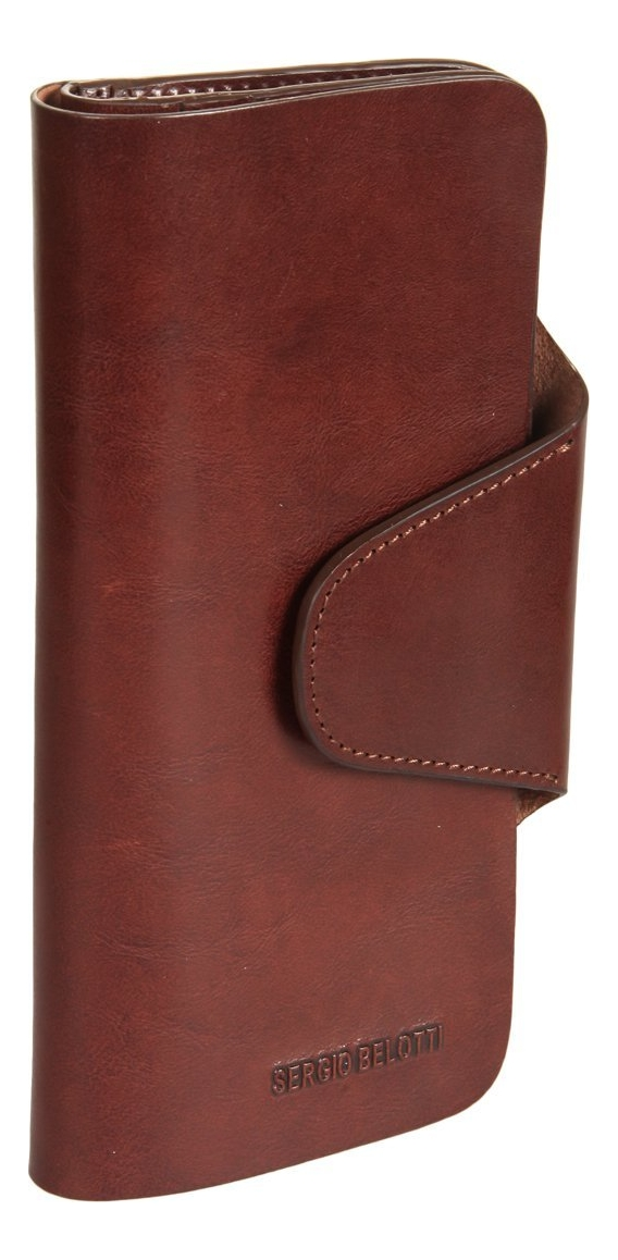 цена Портмоне Irido Brown 1873 (коричневое) онлайн в 2017 году