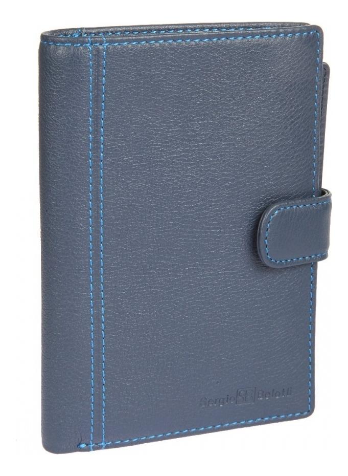 Фото - Портмоне с обложкой д/паспорта Indigo Jeans 2334 (синее) портмоне indigo jeans 533 синее