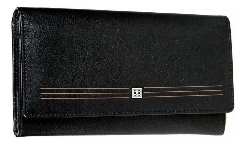 Фото - Кошелек женский West Black 1075 (черный) кошелек sergio belotti кошелек