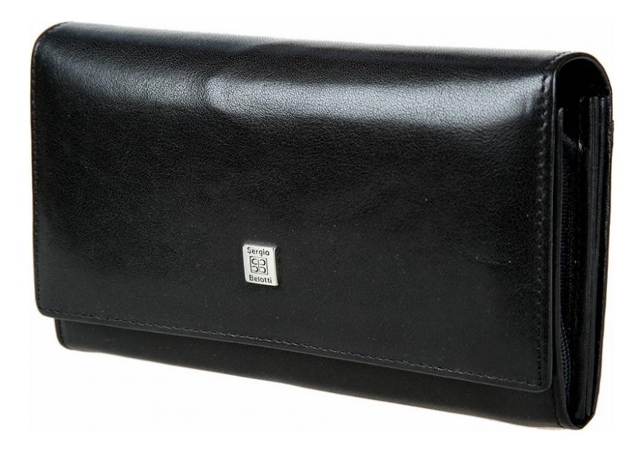 Фото - Кошелек женский West Black 1827 (черный) кошелек sergio belotti кошелек