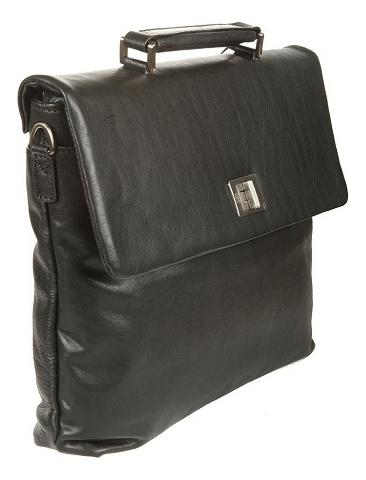 Купить Портфель West Black 9160 (черный), Sergio Belotti