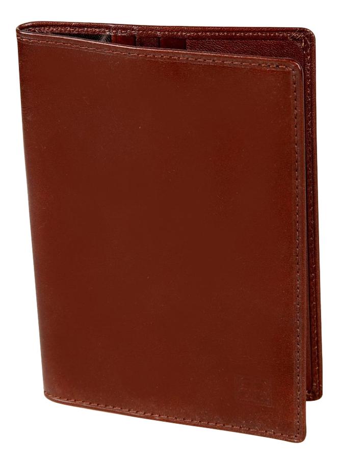 Обложка для паспорта Milano Brown 1597 (коричневая) визитница milano brown 1295 коричневая