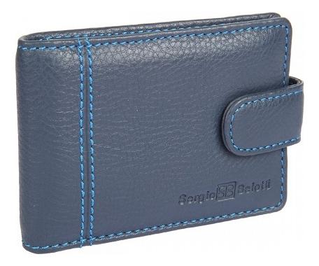 Визитница Indigo Jeans 2929 (синяя) визитница palermo синяя