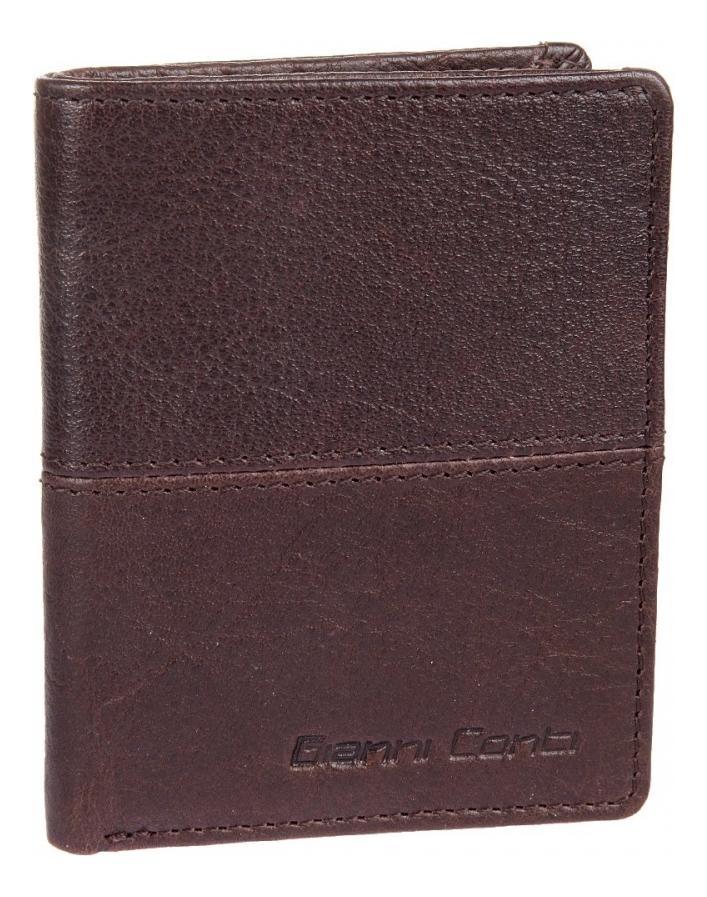 Портмоне Dark Brown 1137387E cover for avtodokumentov gianni conti 1817456 dark brown