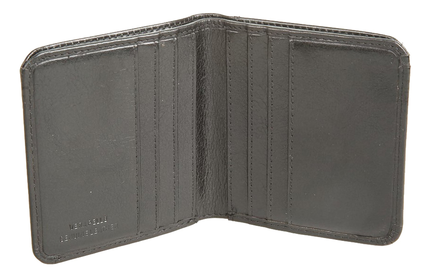 Кошелек Black 707487 (черный) cover for avtodokumentov and passport gianni conti 708454 black