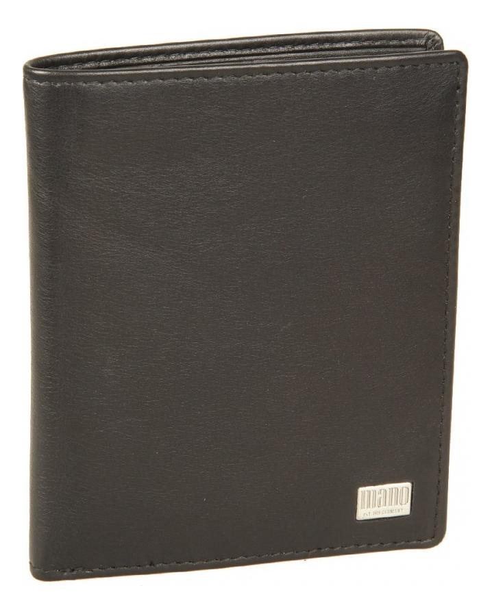 Портмоне Linea Black 15804 coin purse mano 15809 linea black
