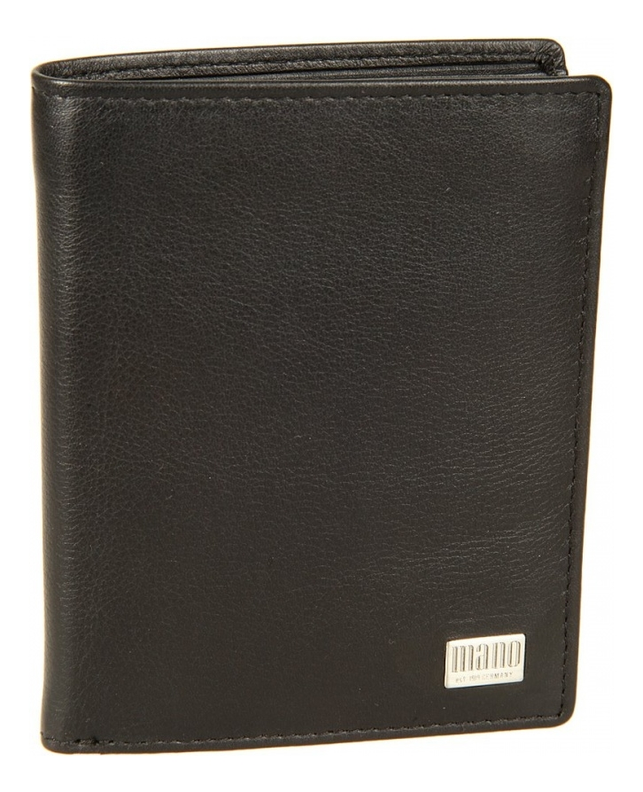 Портмоне Linea Black 15802 coin purse mano 15809 linea black