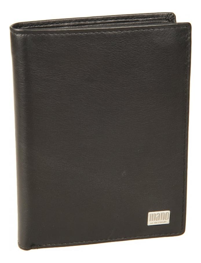 Портмоне Linea Black 15806 coin purse mano 15809 linea black