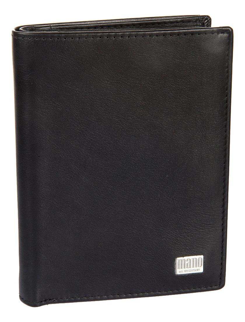 Портмоне Linea Black 15808 coin purse mano 15809 linea black