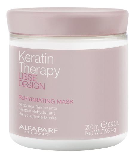 Маска для волос Lisse Design Keratin Therapy Rehydrating Mask 200мл: Маска 200мл недорого
