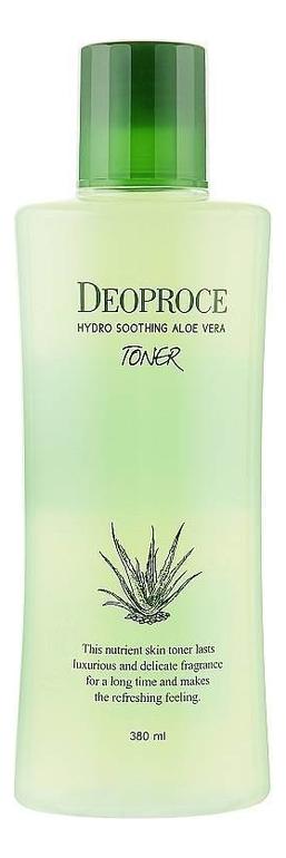 Купить Тонер для лица с экстрактом алоэ вера Hydro Soothing Aloe Vera Toner 380мл, Deoproce