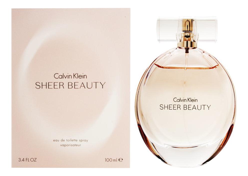 Calvin Klein Sheer Beauty: туалетная вода 100мл