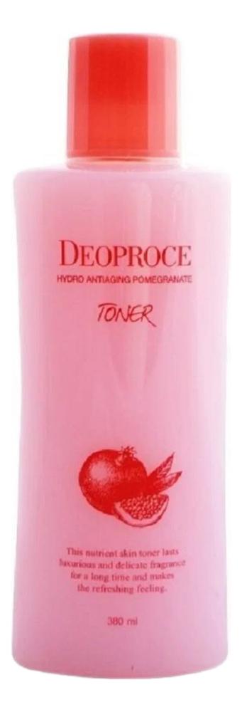 Тонер для лица антивозрастной с экстрактом граната Hydro Antiaging Pomegranate Toner 380мл недорого