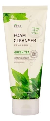 Пенка для умывания с экстрактом зеленого чая Foam Cleanser Green Tea 180мл: Пенка 180мл гидрофильное масло пенка для умывания с экстрактом вишни cherry blossom oil to foam cleanser 100мл