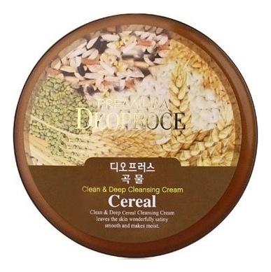 Крем для лица очищающий зерновой Premium Clean & Deep Cereal Cleansing Cream 300г себолосьон очищающий premium цена