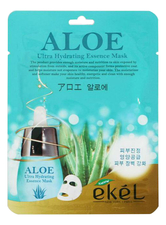 Ekel Тканевая маска для лица с экстрактом алоэ Aloe Ultra Hydrating Essence Mask 25г