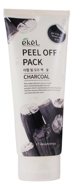 Маска-пленка для лица с древесным углем Peel Off Charcoal Pack 180мл